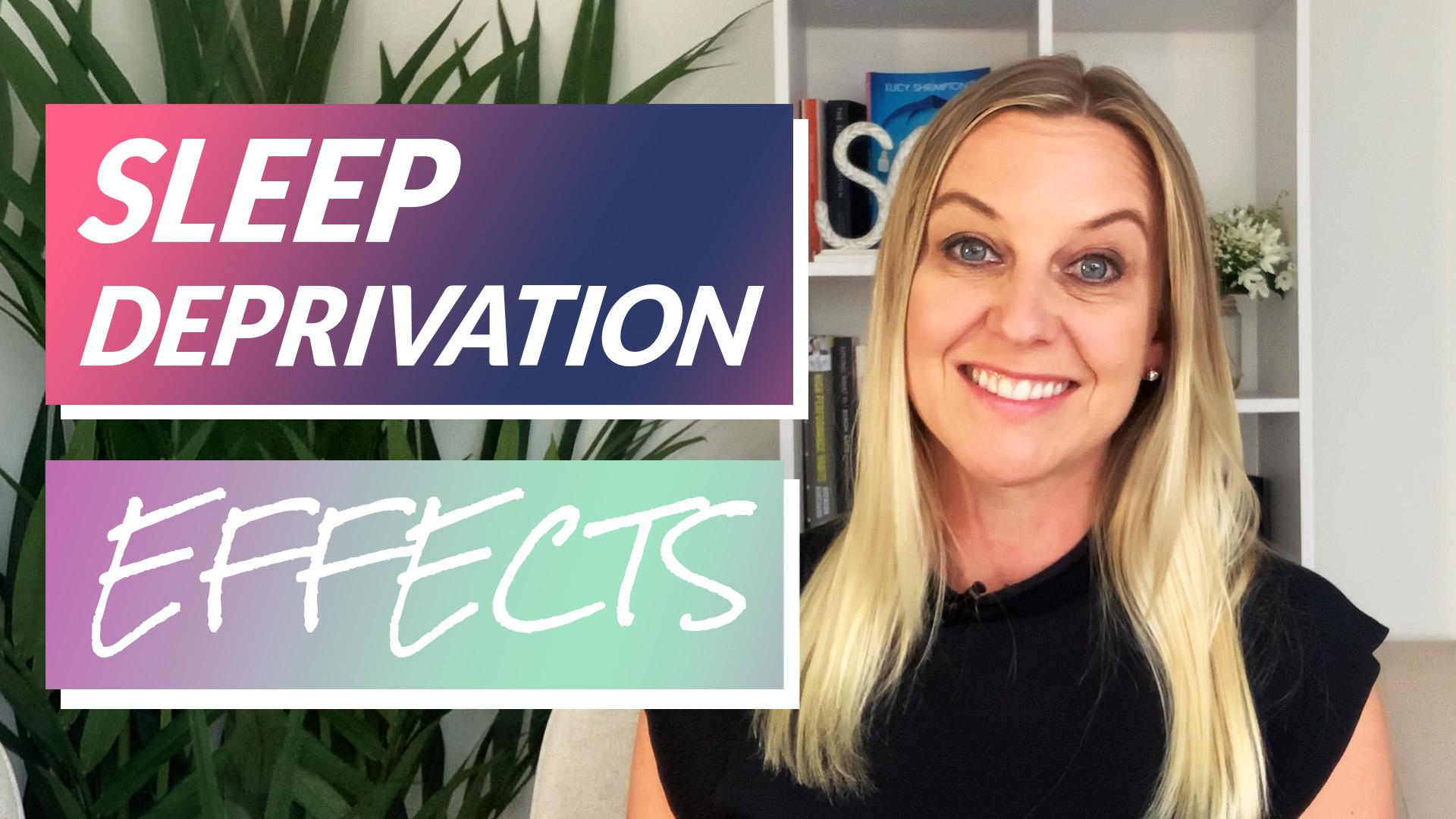 sleep deprivation effects video thumbnail