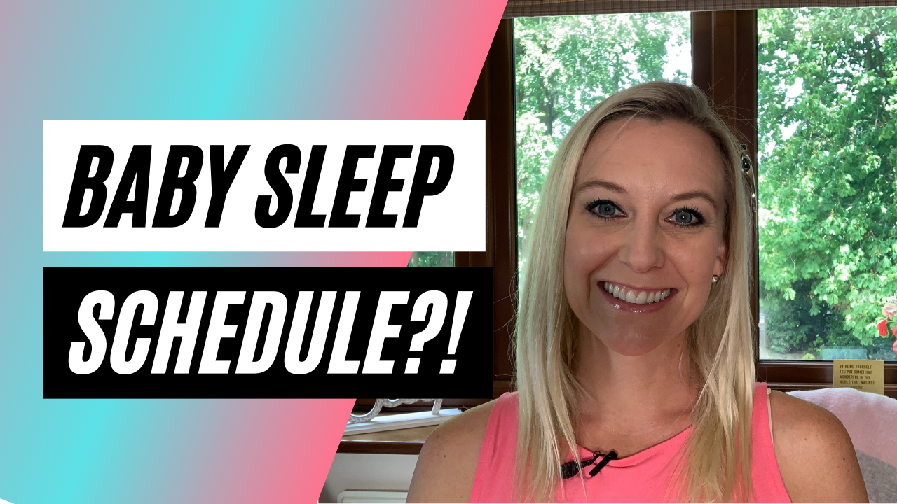 baby sleep schedule video thumbnail