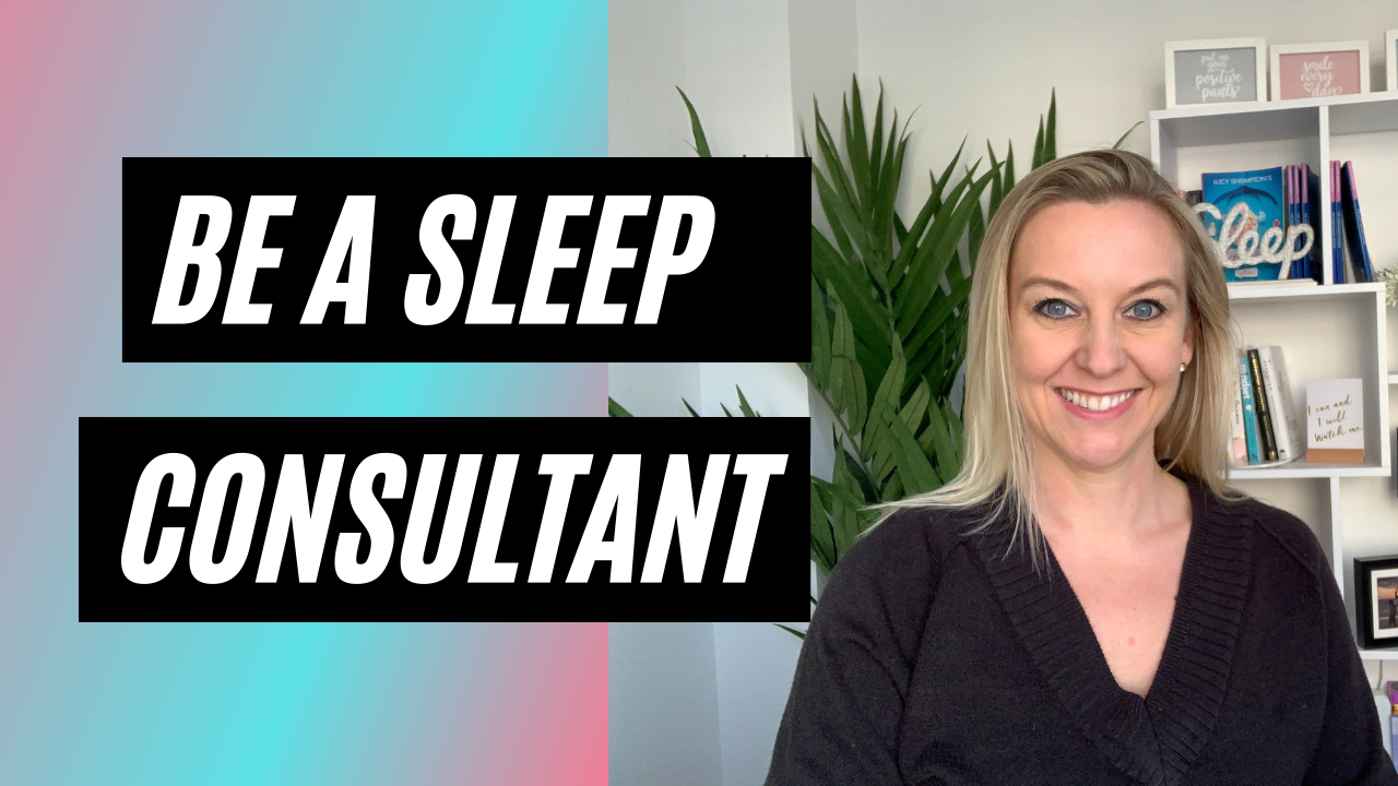 be a sleep consultant video thumbnail