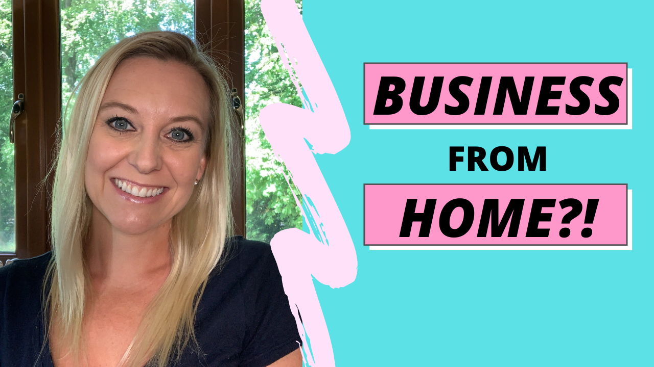 business from home video thumbnail
