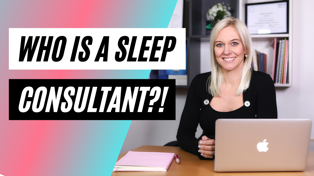 who is a sleep consultant video thumbnail